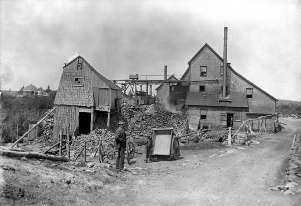 Richardson Gold Mine, Goldboro, 1897