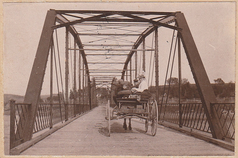 Milford Haven Bridge, 1904